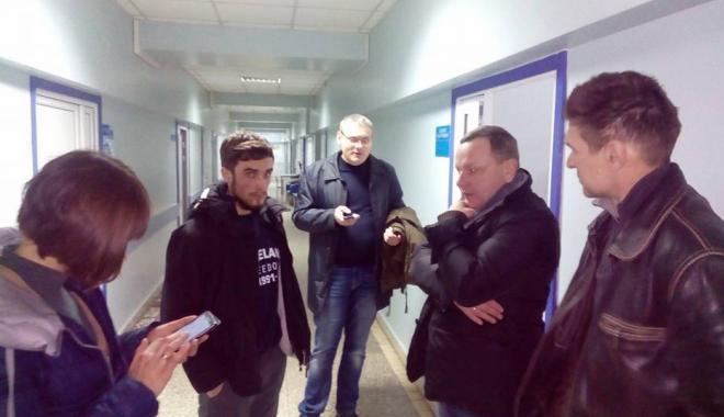 Олейник в больнице. Фото: Валентин Быстриченко