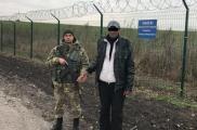 Мужчину задержали пограничники. Фото: пресс-служба Харьковского погранотряда