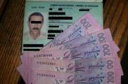 Мужчина пытался подкупить пограничников. Фото: пресс-служба Харьковского погранотряда