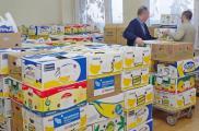 """Волонтеры распределят третью партию помощи. Фото: БФ """"Мир и порядок"""""""