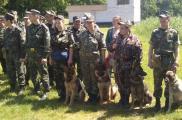 Со служебными собаками провели обучение. Фото: kvs.gov.ua
