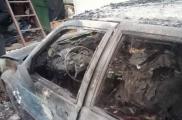 Пожарные потушили огонь за 15 минут. Фото: ГУ ГСЧС Украины в Харьковской области