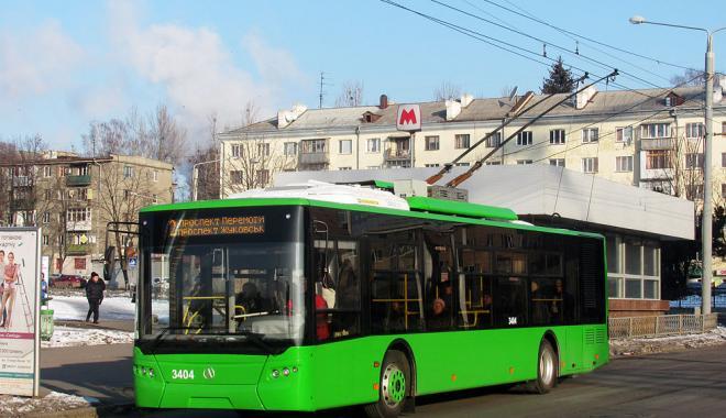 Житель Харькова просит власти пустить новые троллейбусы по центру города ради привлечения туристов