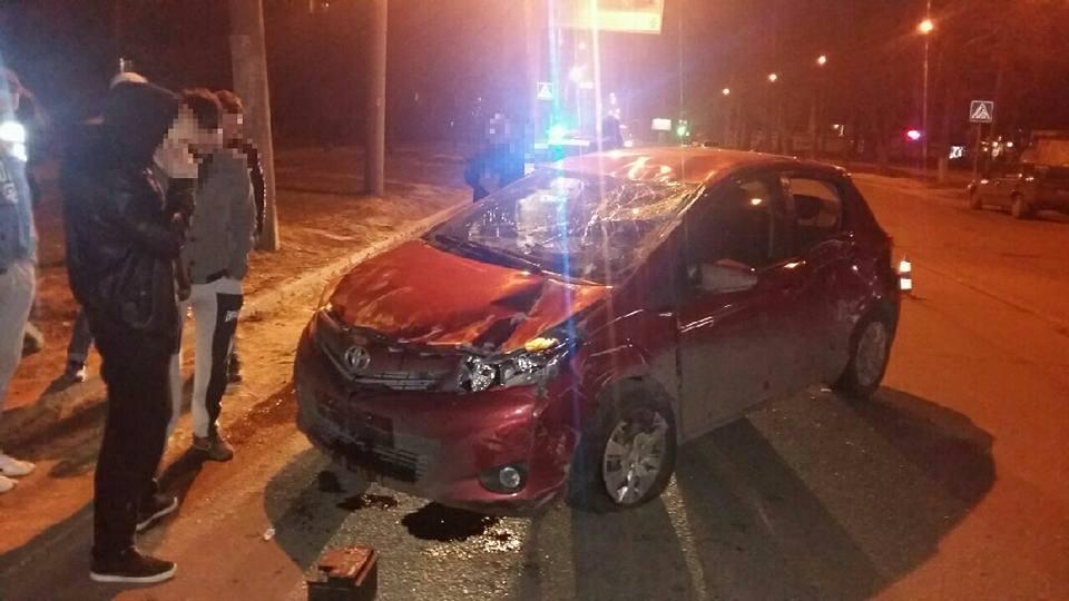 Авария: Toyota врезалась в Chery (ФОТО)