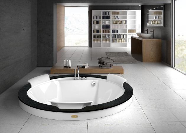 Качественные круглые ванны – стильное украшение дизайна интерьера