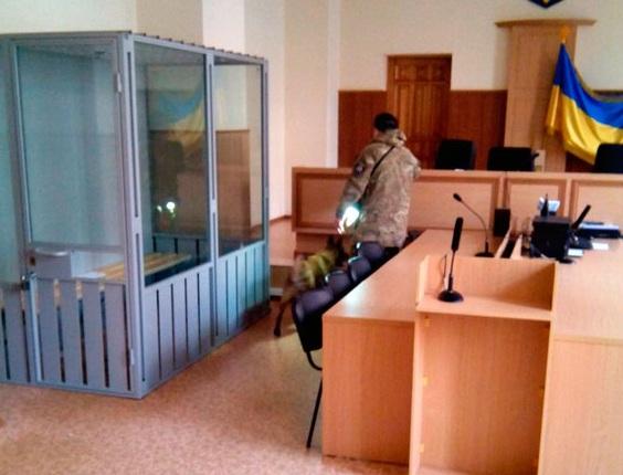 Взрывчатку в Апелляционном суде не нашли (ФОТО)