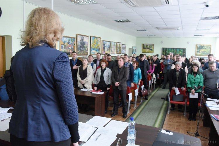 Сессия депутатов в Чугуеве. Фото: civilforum.com.ua