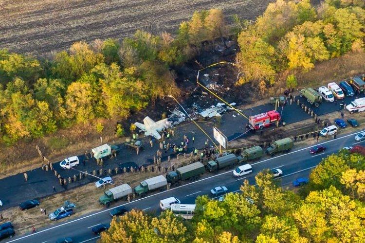 Крушение Ан-26 под Харьковом. Фото: Информатор