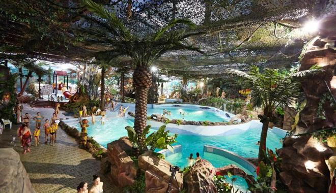 аквапарк фото джунгли