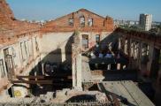 Харьковчане активно публикуют снимки зданий, которые находятся на грани уничтожения