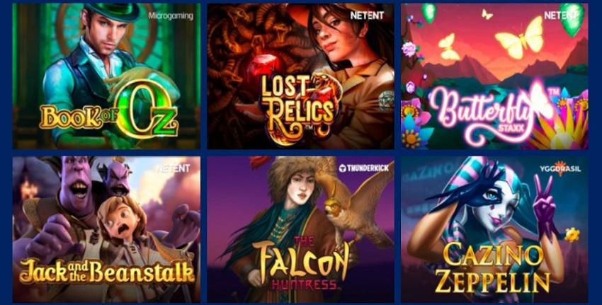 Огромная коллекция симуляторов онлайн-казино Золотой кубок