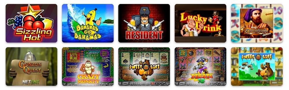 Ігрові автомати онлайн казино